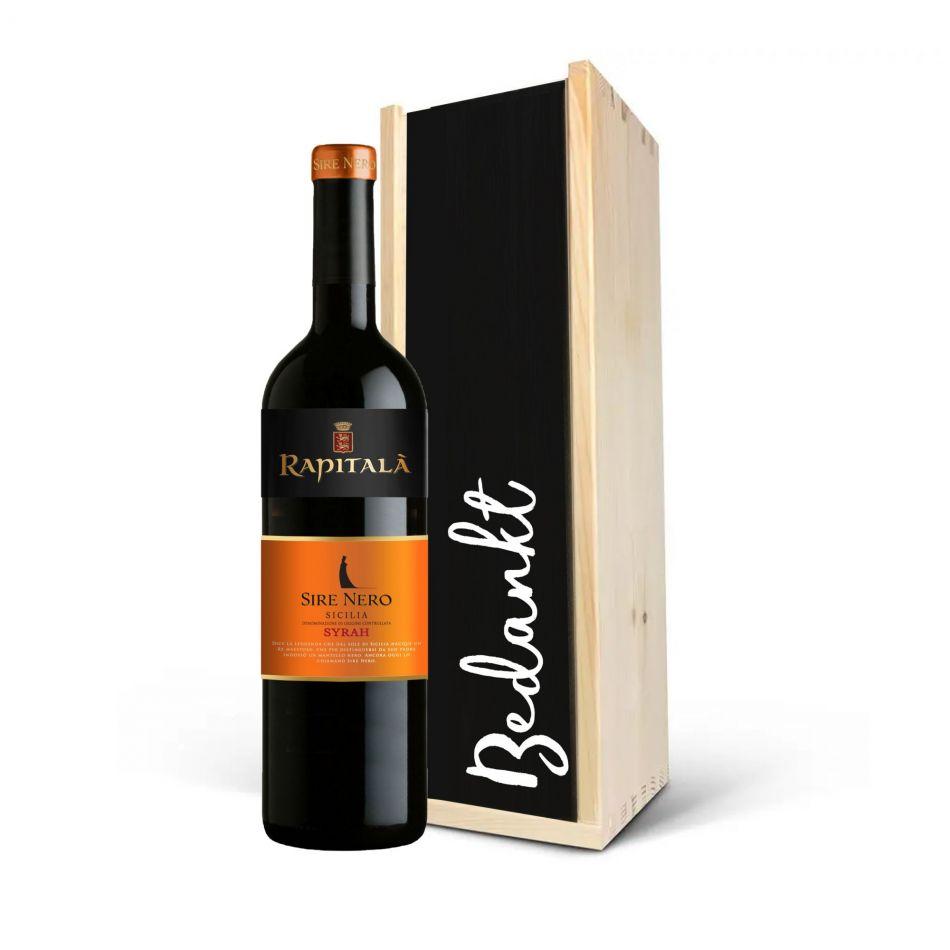 Wijnkist Rapitala Sire Nero Syrah Sicilia DOC